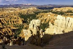 Malas sombras de Bryce Canyon Fotos de archivo libres de regalías