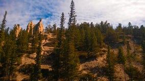 Malas sombras del cielo del color del valle Fotos de archivo libres de regalías