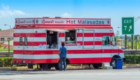 Malasada无盖货车 库存照片