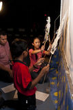 Malasia celebra la hora 2011 de la tierra Imágenes de archivo libres de regalías