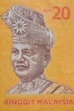 MALASIA - CIRCA 2012: Tunku Abdul Rahman (1903-1990) en bankno Fotos de archivo libres de regalías