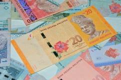 MALASIA - CIRCA 2012: Tunku Abdul Rahman (1903-1990) en bankno Imágenes de archivo libres de regalías