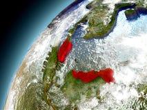 Malasia de la órbita de Earth modelo Fotos de archivo libres de regalías
