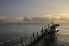 Malasia - isla de Sibu Foto de archivo