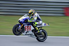 Malasia MotoGP 2009 Fotos de archivo libres de regalías
