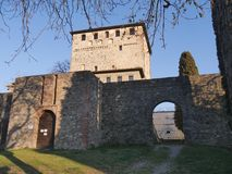 Free Malaspina Castle In Bobbio. Stock Photography - 147538312