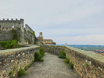 Malaspina castle Stock Images