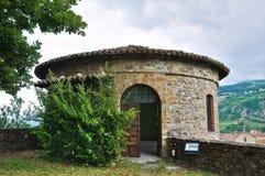 Malaspina-Dal Verme Castle. Bobbio. Emilia-Romagna. Italy. Royalty Free Stock Photography
