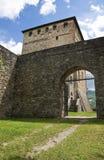 Malaspina-Dal Verme Castle. Bobbio. Emilia-Romagna. Italy. Royalty Free Stock Image