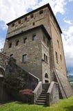 Malaspina-Dal Verme Castle. Emilia-Romagna. Stock Images