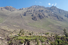Malata Colca Canyon Royalty Free Stock Images
