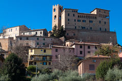 Malatesta castle in longiano Royalty Free Stock Images