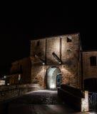 Malatesta castle of Mondaino (Rimini). The Malatesta castle of Mondaino (Rimini Royalty Free Stock Images