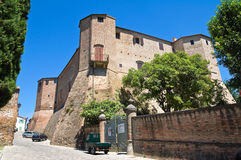 Malatesta rock. Santarcangelo of Romagna. Emilia-Romagna. Italy. Stock Images