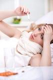 Malattia Fotografia Stock