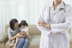 Malattia dei bambini fotografia stock