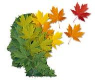 Malattia mentale e Alzheimers Fotografia Stock Libera da Diritti