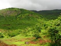 Malavali Hills Landscape stock photography