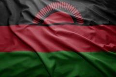 Malawi bandery Obrazy Stock