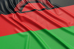 Malawi flag Royalty Free Stock Photography