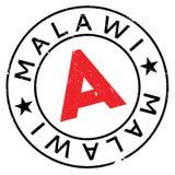 Malawi stamp rubber grunge Stock Photos