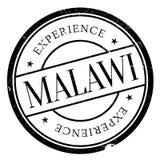 Malawi stamp rubber grunge Royalty Free Stock Image