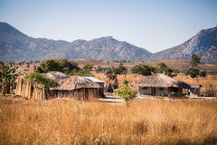 Malawi. Typical small village in Malawi, Africa Stock Images