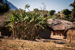 Malawi. Typical small village in Malawi, Africa Stock Photos