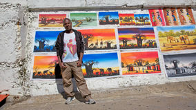 Malawian Artist Royalty Free Stock Images