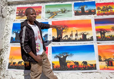 Malawian Artist Stock Photography