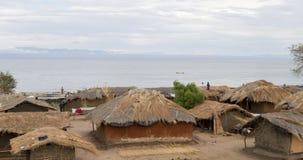 Malawisches Dorf Lizenzfreie Stockbilder