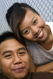 malay пар счастливый Стоковые Фотографии RF