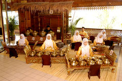 Традиционное нот Malay Стоковые Фото