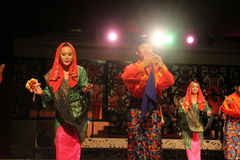 Malay Aboriginal dance Stock Photography