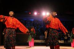 Malay Aboriginal dance. Togather at cultural village sarawak Royalty Free Stock Photos