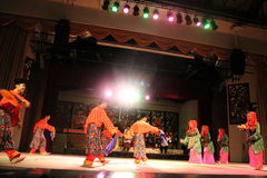 Malay Aboriginal dance Royalty Free Stock Images