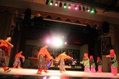 Malay Aboriginal dance. Togather at cultural village sarawak Royalty Free Stock Images