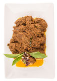 Malay Beef Rendang Dish II Stock Images