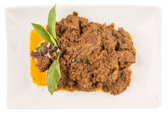 Malay Beef Rendang Dish V Stock Images