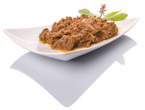 Malay Beef Rendang Dish VIII Royalty Free Stock Images