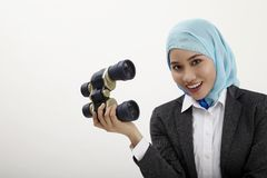 Malay business woman Royalty Free Stock Images