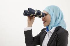 Malay business woman Royalty Free Stock Image