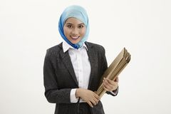Malay business woman Royalty Free Stock Image