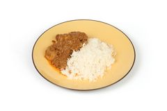 Malay chicken curry Royalty Free Stock Image