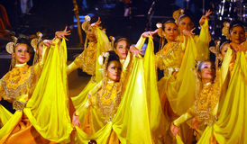 Malay Dance Royalty Free Stock Photo