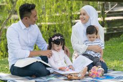 Free Malay Family At Recreational Park Royalty Free Stock Photography - 126776527