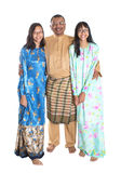 Malay Father And Daughters V Royalty Free Stock Images