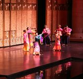 Malay Folk Dance Royalty Free Stock Images