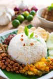 Malay food nasi lemak kukus Royalty Free Stock Photography