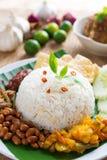 Malay food nasi lemak kukus Royalty Free Stock Photography